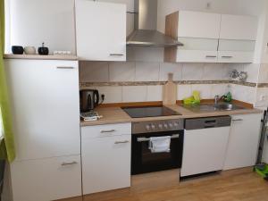 A kitchen or kitchenette at Apartment Langen