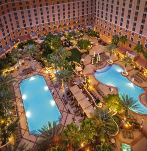 A view of the pool at Club Wyndham Grand Desert or nearby