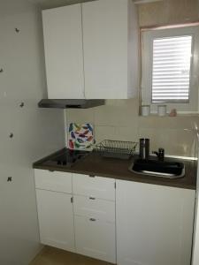A kitchen or kitchenette at Apartman - Sea&Nature - Krk