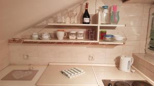 Koupelna v ubytování Apartments Tatjana