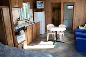 A kitchen or kitchenette at Apollo Bay Holiday Park