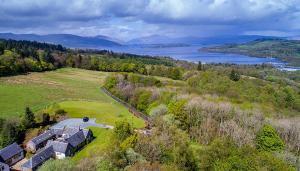 A bird's-eye view of Sheildaig Farm
