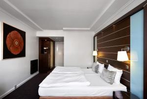 Cama o camas de una habitación en Imperial Hotel