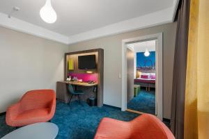 Et tv og/eller underholdning på Richmond Hotel