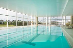 The swimming pool at or near Sheraton Milan Malpensa Airport Hotel & Conference Centre