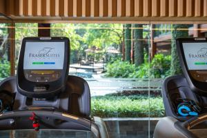 The fitness center and/or fitness facilities at Fraser Suites Hanoi