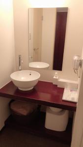 A bathroom at Hills Hotel Gotanda