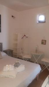 A bed or beds in a room at Il Castello