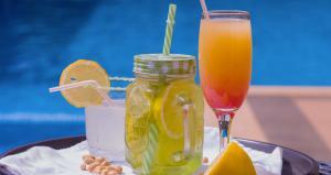 Drinks at La Rose Blanche Korhogo