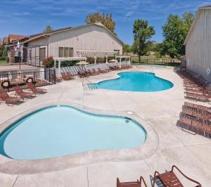 The swimming pool at or near Club Wyndham Grand Lake