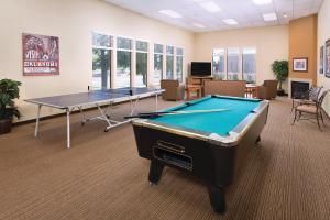 A pool table at Club Wyndham Grand Lake
