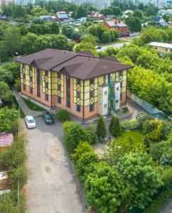 A bird's-eye view of Hotel Dom Uchenykh