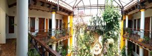 Un balcón o terraza de Hotel Grand Maria