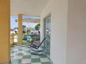 A balcony or terrace at Casa Alexis y Dignora