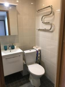 A bathroom at 1-Bedroom apartment in city centre