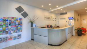 The lobby or reception area at The Dunes Cotton Tree