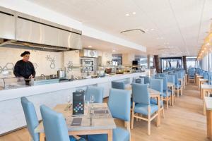 Een restaurant of ander eetgelegenheid bij Hotel Best Terramarina