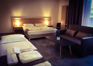 Кровать или кровати в номере Georgian Wine House