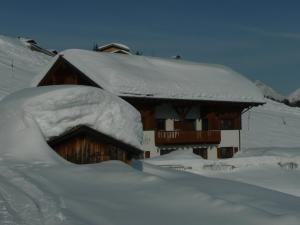 Pension Bergmähder im Winter