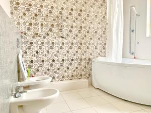 Ванная комната в Apartment Nagornaya 19