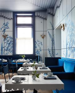 Restaurant ou autre lieu de restauration dans l'établissement Maison de la Luz