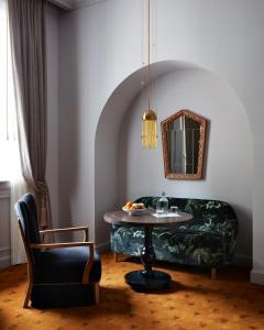 Coin salon dans l'établissement Maison de la Luz