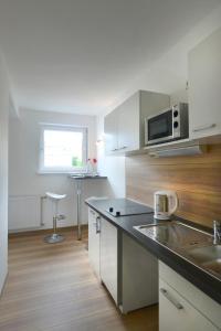 Küche/Küchenzeile in der Unterkunft Petul Apart Hotel City Premium