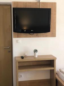 TV a/nebo společenská místnost v ubytování Apartments Sea Vodice