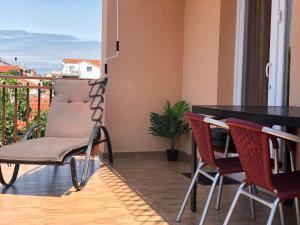 Balkón nebo terasa v ubytování Apartments Sea Vodice