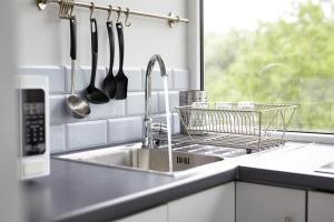 Kuchnia lub aneks kuchenny w obiekcie Boleslav Home