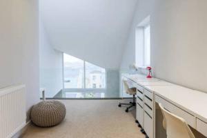 A kitchen or kitchenette at Ocean Views