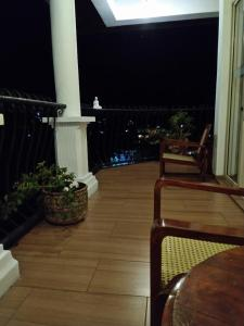 A balcony or terrace at 36 Bed & Breakfast