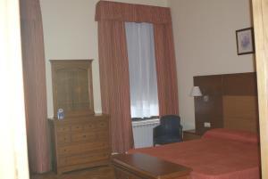Cama o camas de una habitación en Gran Hotel Balneario