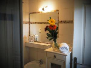Koupelna v ubytování Harmony Hall