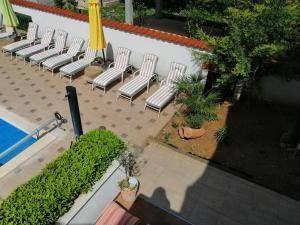 Вид на бассейн в Villa Vanilla или окрестностях