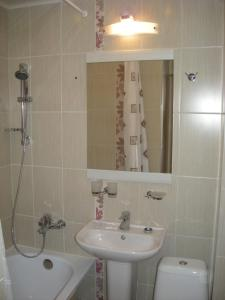 Ванная комната в Гостиница Спорт