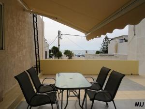 A balcony or terrace at Holiday Dream Thalia Apartment
