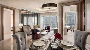 A restaurant or other place to eat at The Residences of The Ritz-Carlton Jakarta Pacific Place