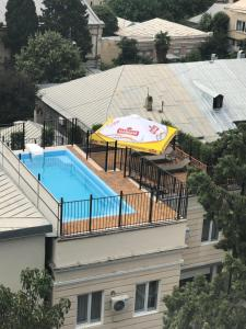 A view of the pool at Hotel ZP Palace or nearby