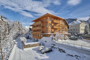 Hotel Brötz during the winter