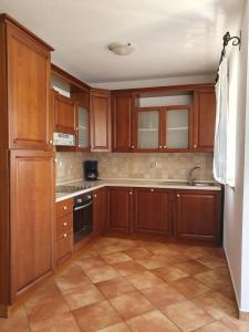 Kuhinja ili čajna kuhinja u objektu Apartments Poljski put V
