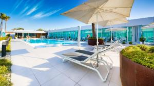 The swimming pool at or near Hotel Nayra - Adults Only