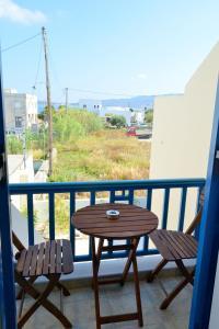 Balkon ili terasa u objektu Finikas Studios