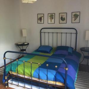 Un ou plusieurs lits dans un hébergement de l'établissement Château Régaldo-Saint Blancard