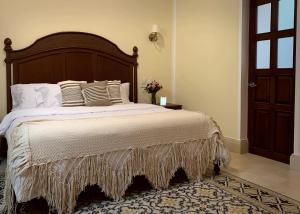 Cama o camas de una habitación en Casa Tavera