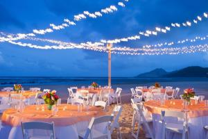 A restaurant or other place to eat at St. Kitts Marriott Resort & The Royal Beach Casino