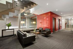 The lobby or reception area at Quest Caroline Springs