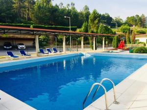 A piscina em ou perto de Palace Hotel e SPA Monte Rio