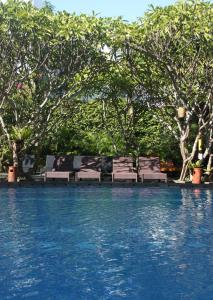 The swimming pool at or near Febri's Hotel & Spa