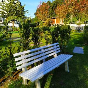 Jardín al aire libre en Hotel Aguadoce - Louzao